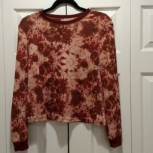 No Comment Marbled Sweater